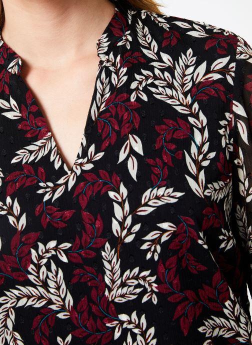 Vêtements I.Code Top Feuillage QP11284 Bordeaux vue face