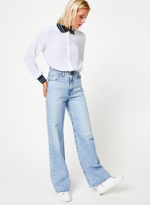 Vêtements I.Code Chemise QP12074 Blanc vue bas / vue portée sac