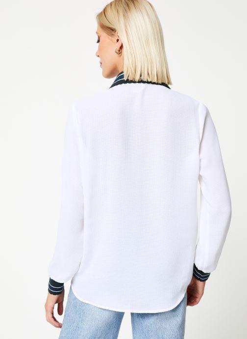 Vêtements I.Code Chemise QP12074 Blanc vue portées chaussures