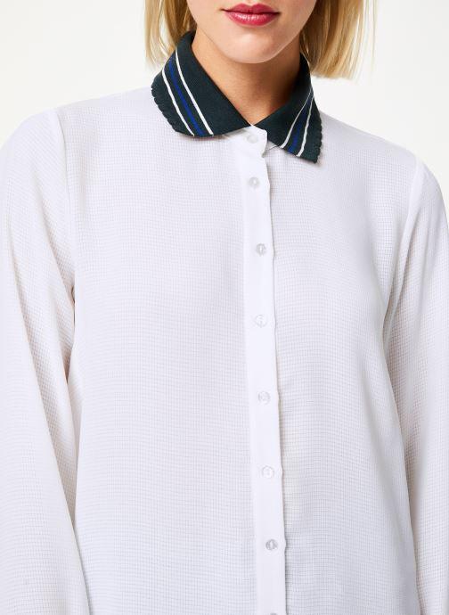 Vêtements I.Code Chemise QP12074 Blanc vue face