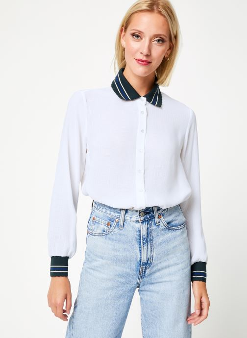 Vêtements I.Code Chemise QP12074 Blanc vue droite