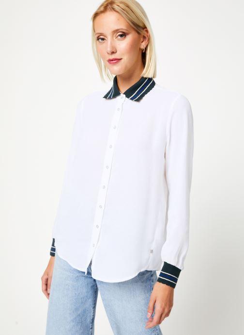 Vêtements I.Code Chemise QP12074 Blanc vue détail/paire