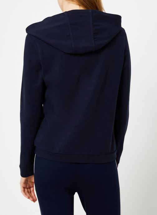 Vêtements I.Code Sweat Mademoiselle Marine QP15014 Bleu vue portées chaussures