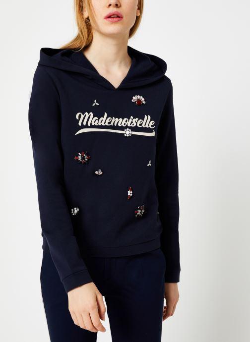 Vêtements I.Code Sweat Mademoiselle Marine QP15014 Bleu vue détail/paire