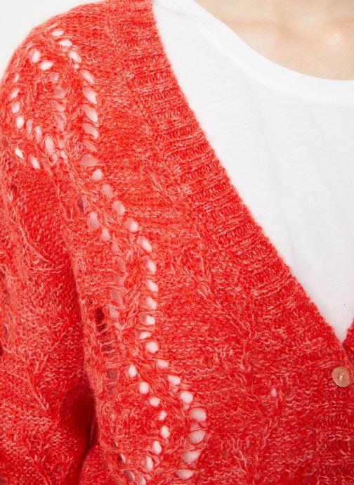 Vêtements I.Code Cardigan Reversible Paprika QP17004 Jaune vue face