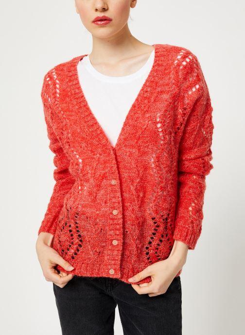 Vêtements I.Code Cardigan Reversible Paprika QP17004 Rose vue détail/paire