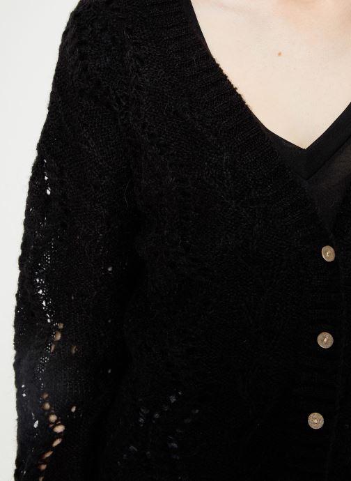 Vêtements I.Code Cardigan Reversible QP17004 Noir vue face