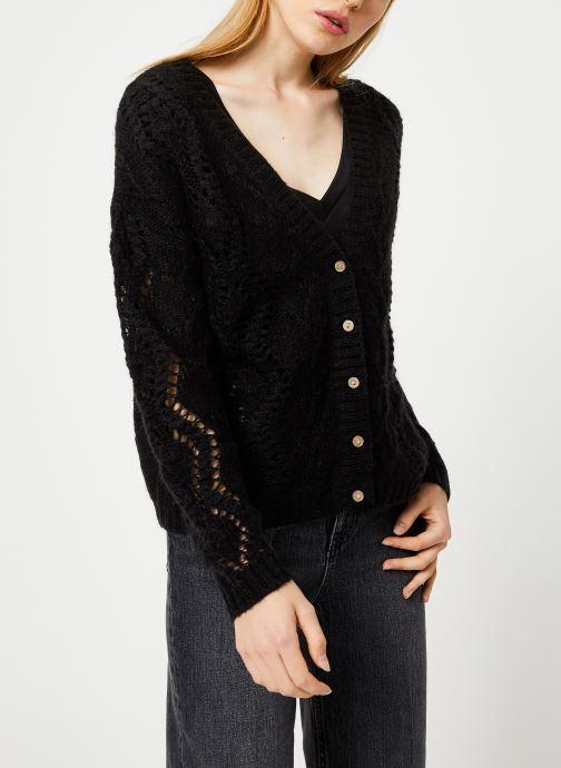 Vêtements I.Code Cardigan Reversible QP17004 Noir vue détail/paire