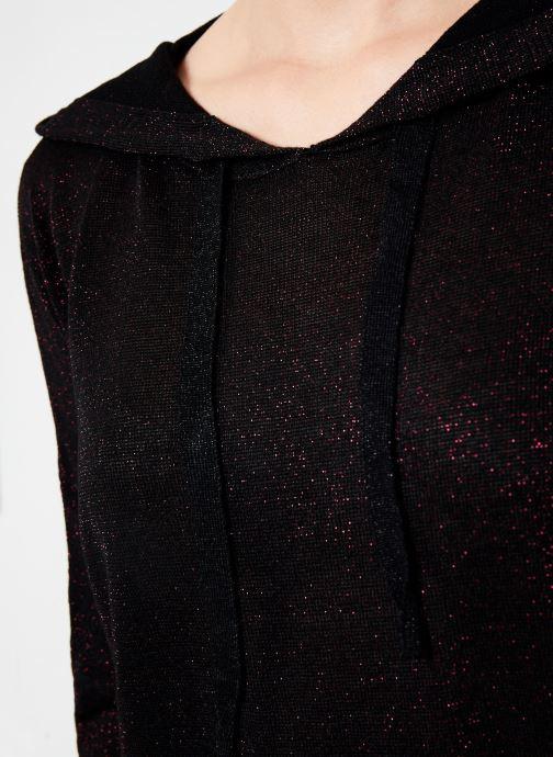 Vêtements I.Code Pull Capuche Cherry QP18134 Rouge vue face