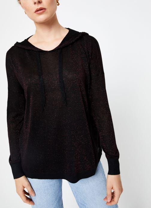 Vêtements I.Code Pull Capuche Cherry QP18134 Rouge vue détail/paire