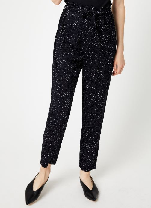 Vêtements I.Code Pantalon Carrot Imprime QP22044 Bleu vue détail/paire