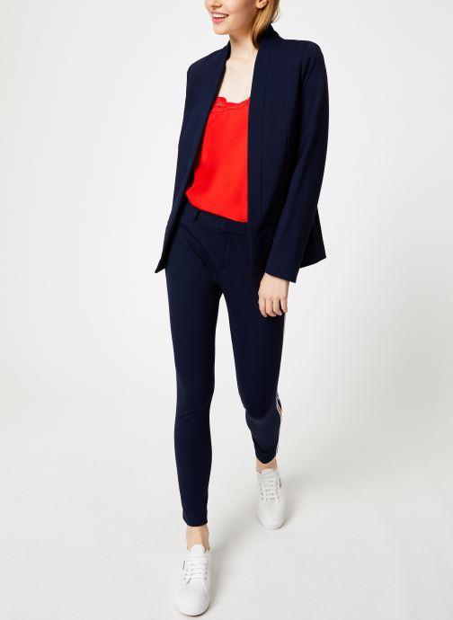 I.Code Pantalon droit - Tregging Marine QP22054 (Bleu) - Vêtements (408157)