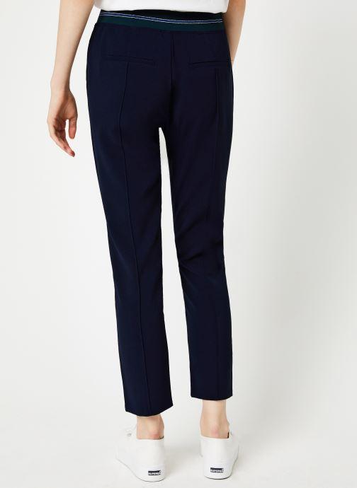 Vêtements I.Code Pantalon City Marine QP22084 Bleu vue portées chaussures