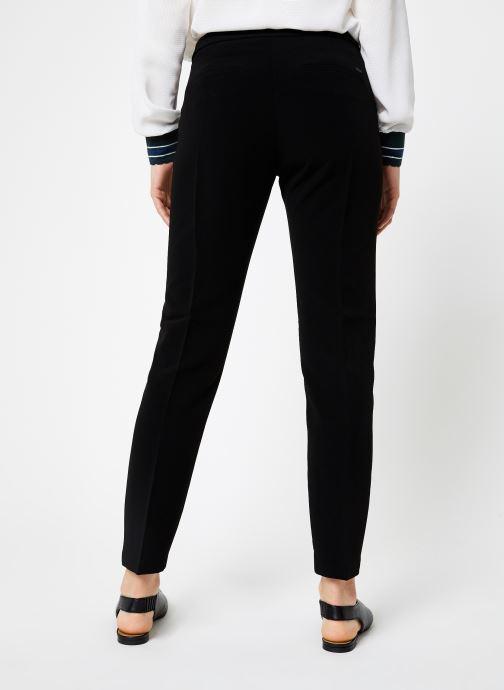 Vêtements I.Code Pantalon City Noir QP22124 Noir vue portées chaussures