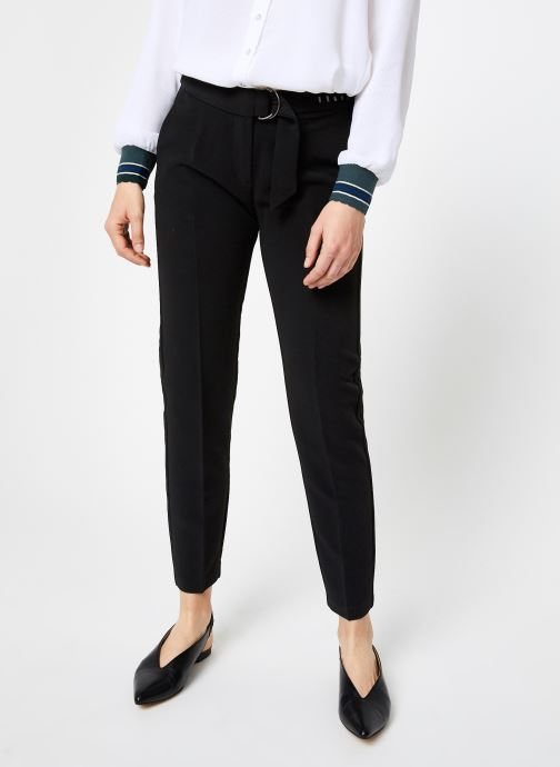 Kleding I.Code Pantalon City Noir QP22124 Zwart detail