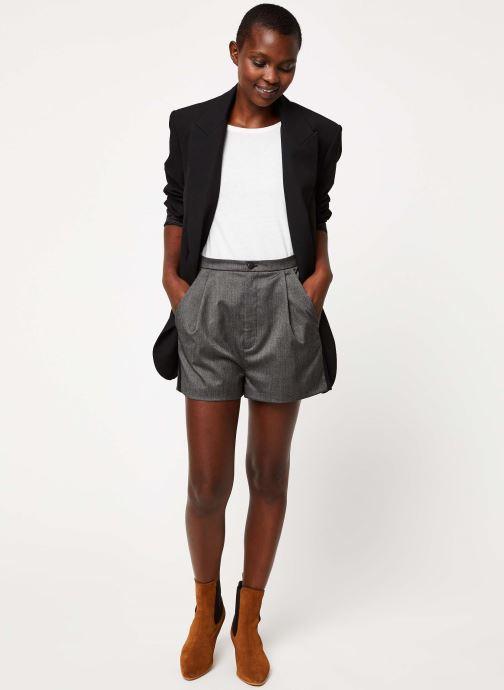 Vêtements I.Code Short QP26004 Gris vue bas / vue portée sac