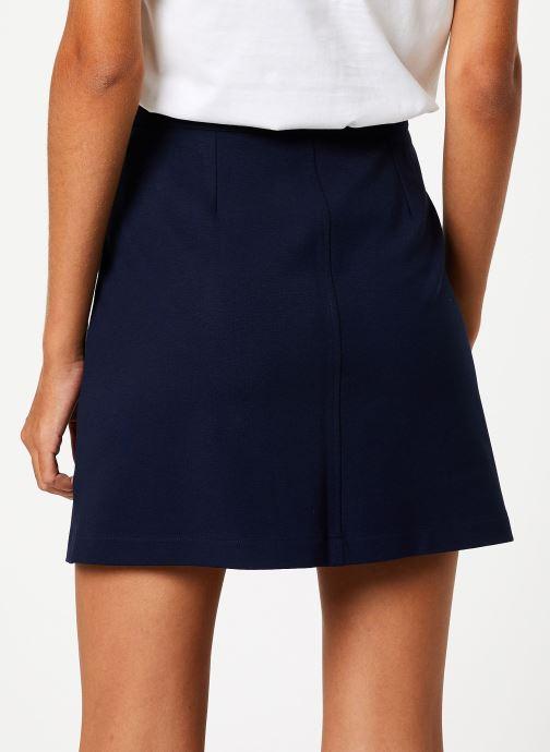 Vêtements I.Code Jupe Marine QP27014 Bleu vue portées chaussures
