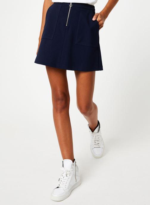 Vêtements I.Code Jupe Marine QP27014 Bleu vue détail/paire