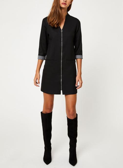 Vêtements I.Code Robe Noire  Zipee QP30044 Noir vue bas / vue portée sac