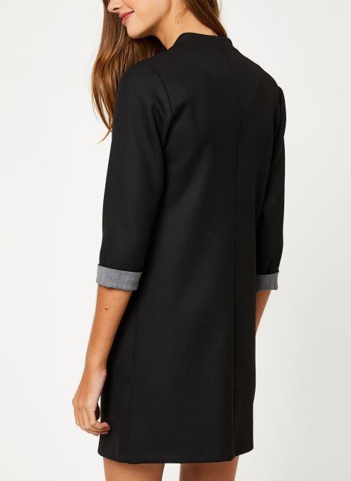 Vêtements I.Code Robe Noire  Zipee QP30044 Noir vue portées chaussures