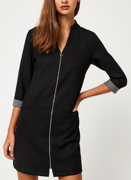 Vêtements I.Code Robe Noire  Zipee QP30044 Noir vue droite