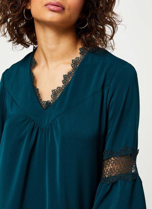 Vêtements I.Code Robe Vert Imperial QP30084 Vert vue face