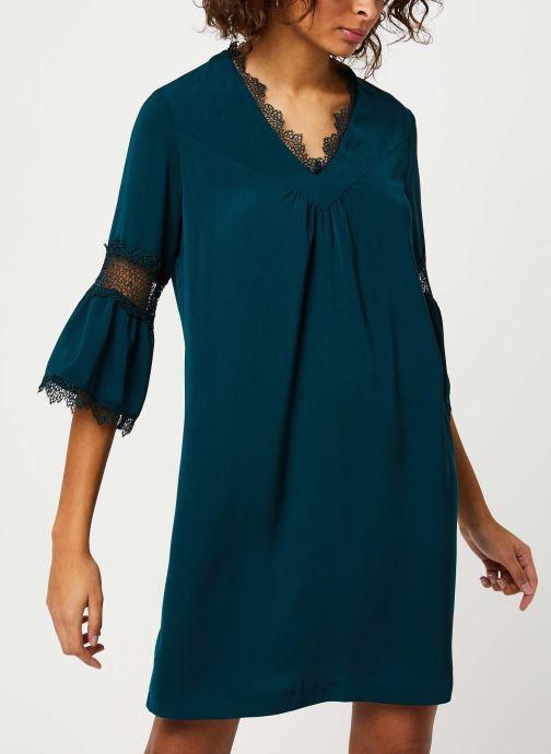 Vêtements I.Code Robe Vert Imperial QP30084 Vert vue droite