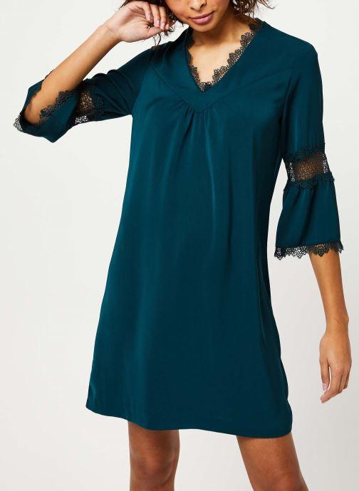 Vêtements I.Code Robe Vert Imperial QP30084 Vert vue détail/paire