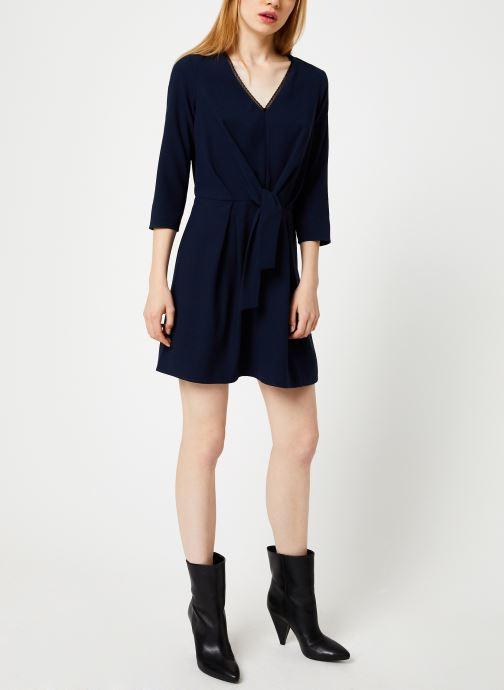 Vêtements I.Code Robe Nœud QP30154 Bleu vue bas / vue portée sac
