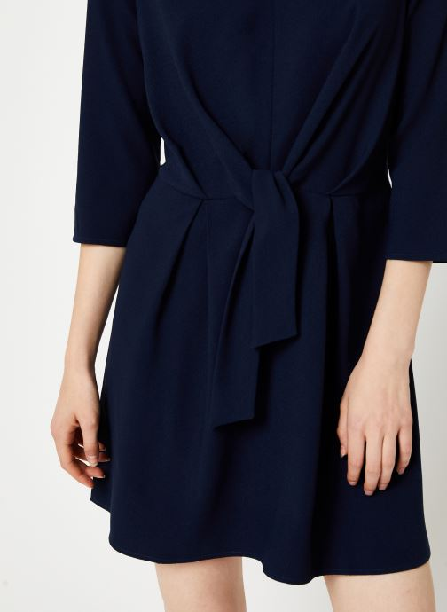 Vêtements I.Code Robe Nœud QP30154 Bleu vue face