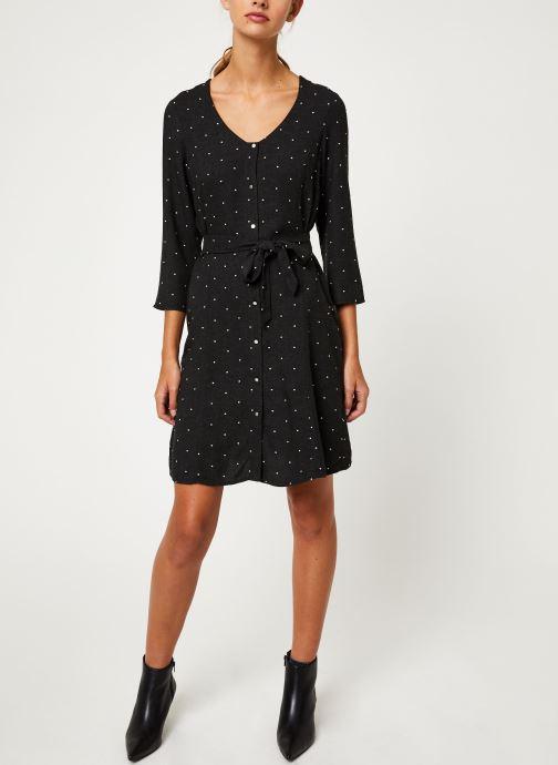 Vêtements I.Code Robe Boutonnee QP30184 Gris vue bas / vue portée sac