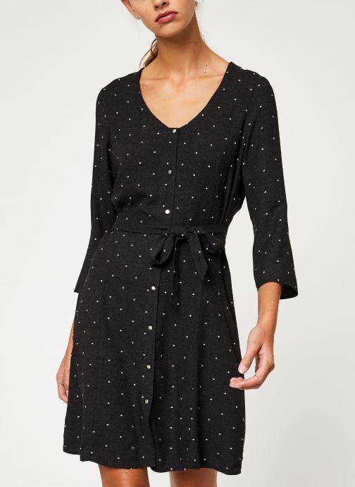 Vêtements I.Code Robe Boutonnee QP30184 Gris vue droite