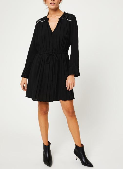 Vêtements I.Code Robe ML Plissee QP30214 Noir vue bas / vue portée sac