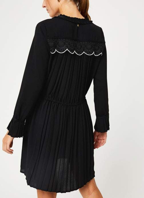 Vêtements I.Code Robe ML Plissee QP30214 Noir vue portées chaussures