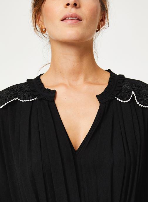 Vêtements I.Code Robe ML Plissee QP30214 Noir vue face