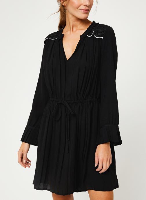 Vêtements I.Code Robe ML Plissee QP30214 Noir vue détail/paire