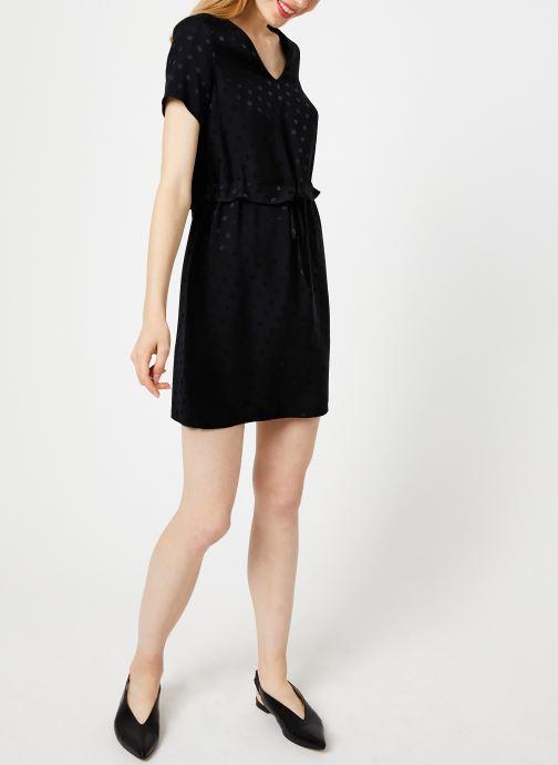 I.Code Robe Lien Taille QP30274 (Noir) - Vêtements (408172)