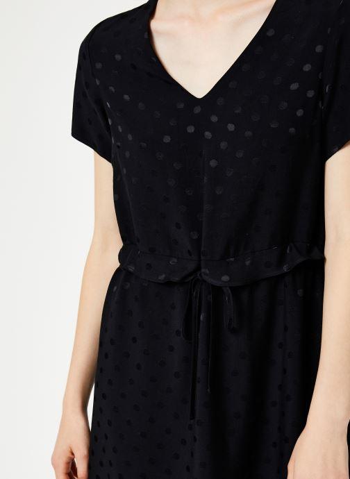 Vêtements I.Code Robe Lien Taille QP30274 Noir vue face