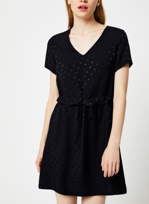 Vêtements I.Code Robe Lien Taille QP30274 Noir vue détail/paire