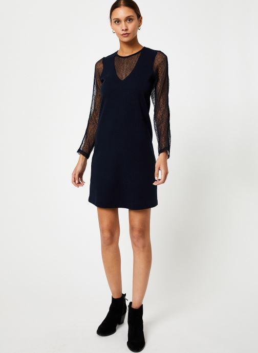 Vêtements I.Code Robe Resille QP30284 Bleu vue bas / vue portée sac