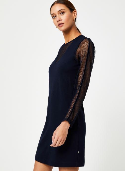 Vêtements I.Code Robe Resille QP30284 Bleu vue droite