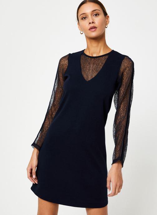 Vêtements I.Code Robe Resille QP30284 Bleu vue détail/paire