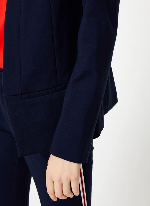 Vêtements I.Code Veste Bande Sport QP40064 Bleu vue face