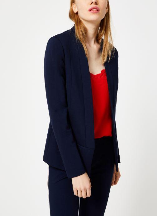 Vêtements I.Code Veste Bande Sport QP40064 Bleu vue détail/paire