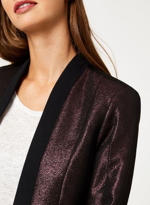 Vêtements I.Code Veste Allover Cherry QP40094 Bordeaux vue face