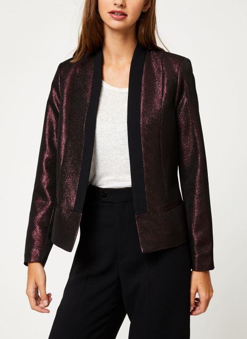 Vêtements I.Code Veste Allover Cherry QP40094 Bordeaux vue détail/paire