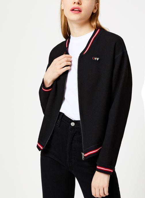 Vêtements I.Code Teddy Reversible Noir Paparika QP41054 Noir vue détail/paire