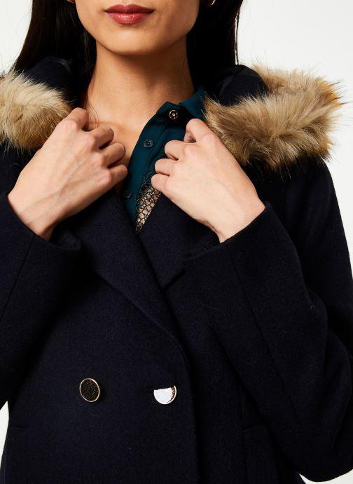 Vêtements I.Code Manteau Marine QP44024 Bleu vue face