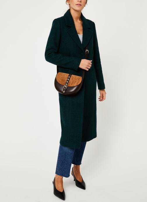 Vêtements I.Code Manteau Vert Imperial QP44054 Vert vue bas / vue portée sac