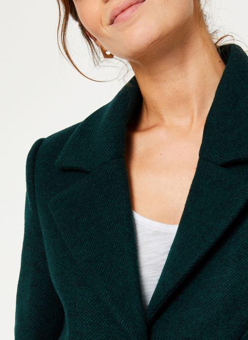 Vêtements I.Code Manteau Vert Imperial QP44054 Vert vue face